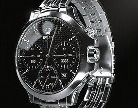 Rolex Watch 3D