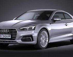 Audi A5 Coupe 2017 sport 3D