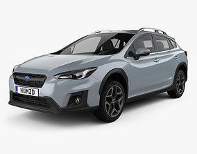 3D Subaru XV 2019