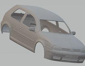Volkswagen Golf MK4 Printable Body Car