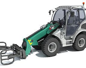 tractor Wheel Loader 3D