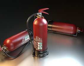 3D firefight Fire Extinguisher