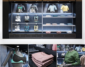 3D Clothes shop athletic wear 02