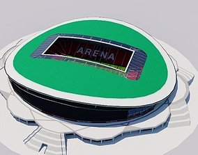3D model Kazan Arena - Rubin Kazan Russia