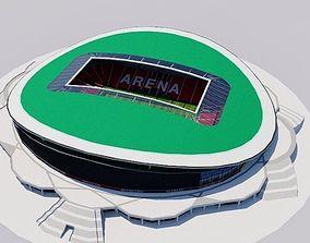 3D asset realtime Kazan Arena - Rubin Kazan Russia