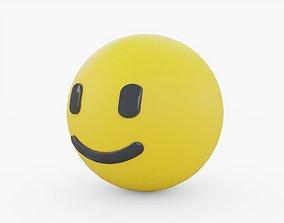 3D model Emoji Smiling