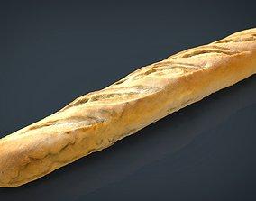 3D model Loaf of bread