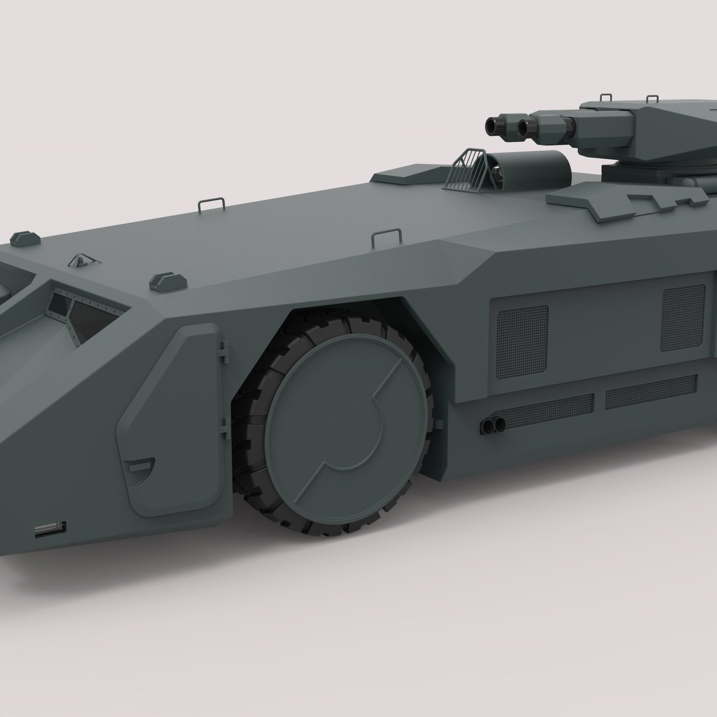 Armored personnel carrier М577 from the movie Aliens