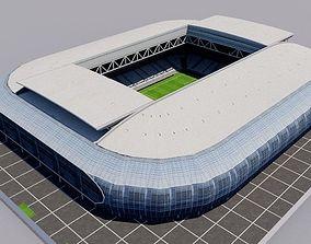 Stade Pierre-Mauroy - Lille - France 3D asset