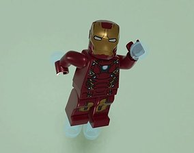 3D model Lego Iron-man v1
