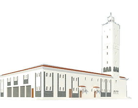 Mosque 3D Exterior