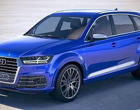 Audi SQ7 2019 3D model