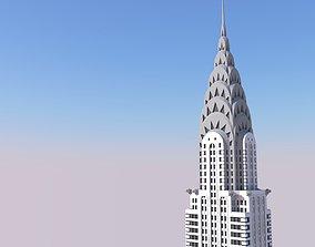 Chrysler Building manhattan 3D printable model