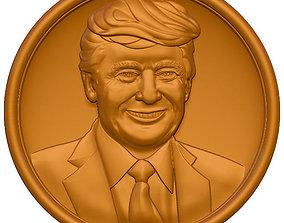 3D Donald Trump ztl