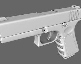 3D model Glock 9 Handgun