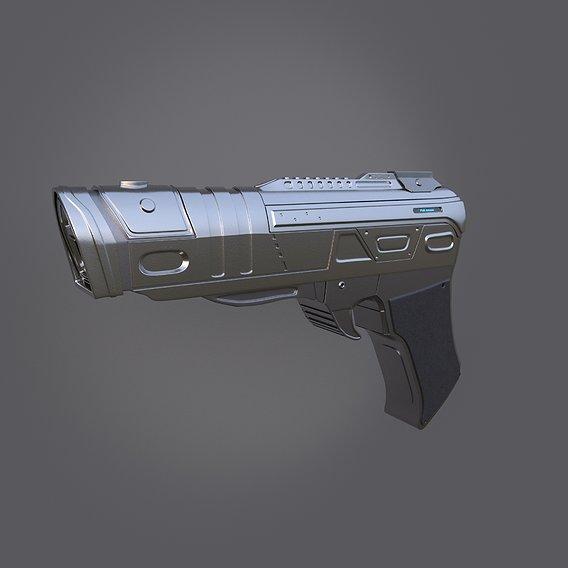 Sci-Fi Energy Pistol