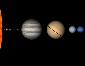 3D Planets Solar System