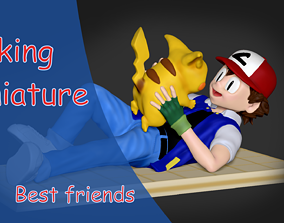 3D print model pokemon Best friends