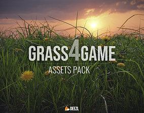 Grass4Game 2 3D asset
