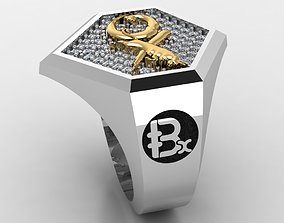 Currency ring 3D print model