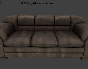 Armchair 3D model lounge