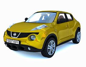3D Nissan Juke Golden
