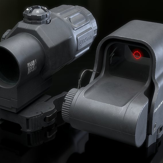 Holo EXPS-3 With Magnifier 3x