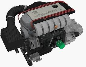 3D asset Volkswagen Corrado VR6 12v engine