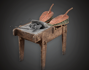 3D model Blacksmith Portable Forge - MVL - PBR Game Ready