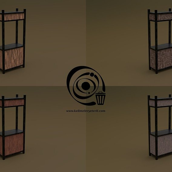 Trade stand 05 4in1 RR - 4 PBR Texture 1 Model