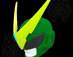3D printable model Genji helmet Sentai skin from Overwatch