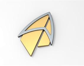 Badge from Star Trek Picard 3D print model