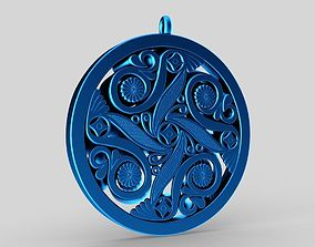 3D printable model Elegance Pendant