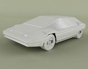 Lancia Sibilo 3D Print model