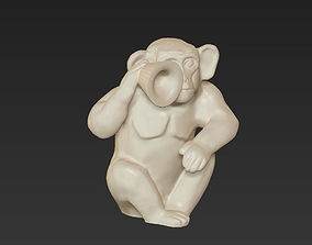 horoscope symbol monkey chinese 2016 3D print model