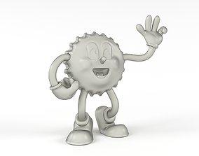 Cappy mascot of Nuka Cola 3D printable model