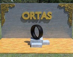 3D asset ORTAS TIRE NO 15 GAME READY