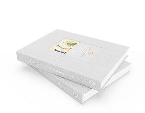 Healthy Cookbooks 3D cookbook