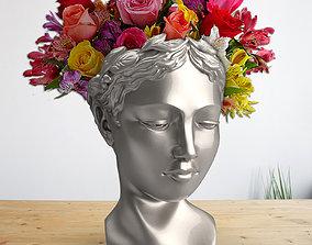 Venus head planter 3D print model