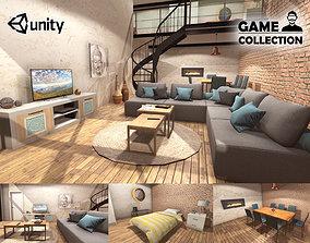 3D model Modern Loft interior