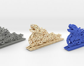 3D print model Chinese Dragon printed