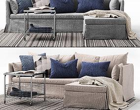3D Sofa SANDBACKEN Ikea