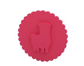 Cookie stamp - Stamp 3D printable model baking