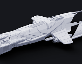 3D printable model HM-52 Halberd Strategic Bomber - 2