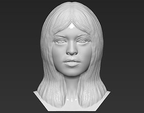 Brigitte Bardot bust 3D printing ready stl obj formats
