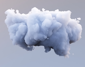 3D model Polygon Cloud 9