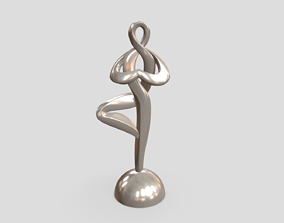 3D print model One Foot Stand Man