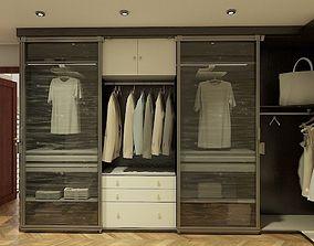 3D model walkin closet