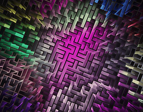 3D model Low Poly Labyrinth