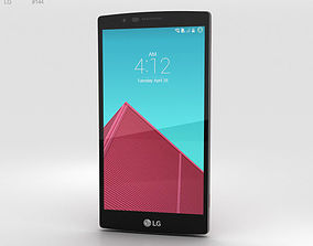 LG G4 Leather Red 3D model